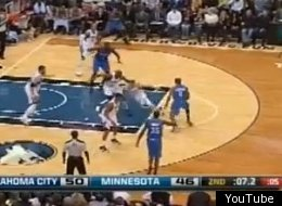 Russell Westbrook has an incredible crossover