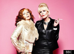Jennifer Saunders and Joanna Lumley star in 'Absolutely Fabulous'