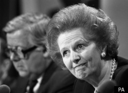 Margaret Thatcher faced a split from the cabinet over Trident