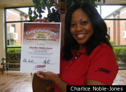 Charlice Noble-Jones went from tragedy to winning a $250,000 franchise.
