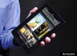 The Kindle Fire is due in the UK in 2012