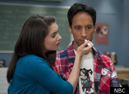 Annie and Abed get freaky on