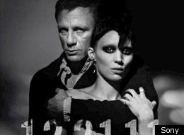 Daniel Craig and Rooney Mara in 'The Girl With The Dragon Tattoo'