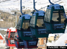 Twenty-one chairlifts cart about 28,000 riders up the slopes of Snowmass per hour.