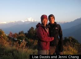 Lisa Dazols and Jenni Chang