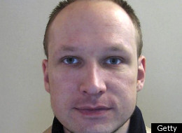 A picture dated 2009 released by Norwegian police shows a file portrait of Norwegian killer Anders Behring Breivik. (Getty)