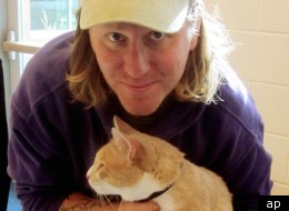 Waylon, an orange-striped tabby cat who wandered away from his new home in Florida has been reunited with his owner after being found nearly 2,000 miles away in Colorado.