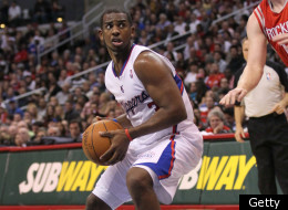 LOS ANGELES, CA - JANUARY 04: Chris Paul #3 of the Los Angeles Clippers ccontrols the ball against the Houston Rockets at Staples Center on January 4, 2012 in Los Angeles, California. The Clippers won 117-89.