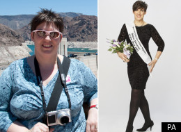 Alison Purvis-Gisborne (before and after) has been named online slimmer of the year