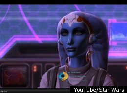 Vette is treated as a slave in the Star Wars online game,