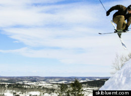 Catch some major air at Blue Mountain Ski Area.