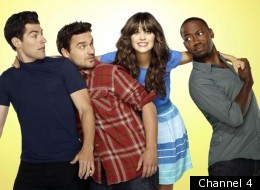 Zooey Deschanel stars in 'New Girl', new to Channel 4 on Friday evening