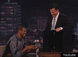 Chris Paul and Jimmy Kimmel shared some laughs on Thursday Night.