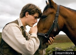 'War Horse' stars Jeremy Irvine as Albie, who forms a strong connection with horse Joey