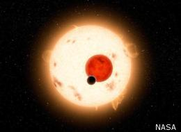 An artist's depiction of the 'Tatooine' planet Kepler-16b