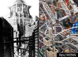 'Dystopian vision: Metropolis II' is based on Fritz Lang's cult 1927 sci-fi movie