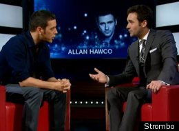 Republic of Doyle's Allan Hawco stopped by George Stroumboulopoulos Tonight earlier this week to promote the CBC series' third season.