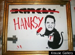 Who does Hanksy have his targets on this time?