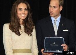 British royal-watchers were raising eyebrows after they realized the brooch and cufflinks the royal couple received while in Yellowknife were custom-made platinum baubles encrusted with nearly 700 tiny diamonds from Canadian mines.