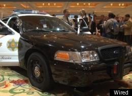 An LASD cop car at CES 2012.
