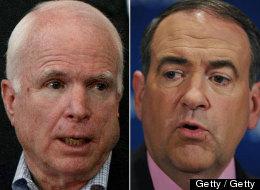 Sen. John McCain (R-Ariz.) criticized former Arkansas Governor Mike Huckabee today over comments Huckabee made regarding the 2008 Republican presidential primary race.