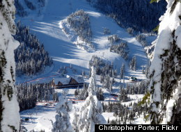 Cypress Mountain receives 415 inches of snow per year, on average.