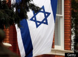 LONDON, ENGLAND - MARCH 23: A general view of the Israeli Embassy on March 23, 2010 in London, England. (Photo by Dan Kitwood/Getty Images)