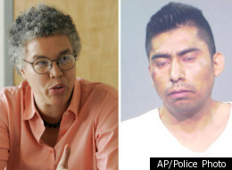 Left, Toni Preckwinkle has championed Cook County's right to handle cases involving immigrants flagged for detention by ICE. Right, Saul Chavez, who has missed two court dates and is believed to have fled the country since posting bond in November.