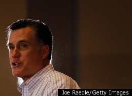 Republican presidential candidate, former Massachusetts Gov. Mitt Romney speaks during a campaign rally at the West Palm Beach Convention Center on January 12, 2012 in West Palm Beach, Florida.