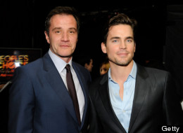 LOS ANGELES, CA - JANUARY 11: Actors Tim DeKay and Matt Bomer attend the 2012 People's Choice Awards at Nokia Theatre L.A. Live on January 11, 2012 in Los Angeles, California. (Photo by Frazer Harrison/Getty Images for PCA)