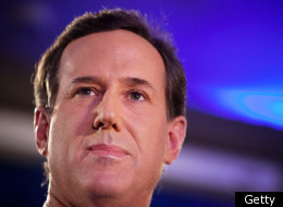 Republican presidential hopeful and former U.S. Sen. Rick Santorum addresses a crowd at the Stoney Creek Inn on Jan. 3, 2012 in Johnston, Iowa.