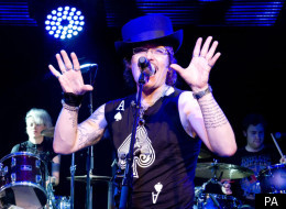Adam Ant's house has been raided by Border Agency