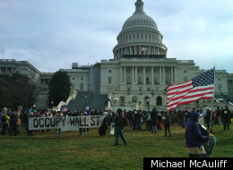 Hundreds of protesters from around the country occupied Congress and the Capitol grounds on Tuesday, Jan. 17, 2012.