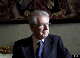 Mario Monti Has Eurozone Talks This Week With David Cameron, Angela Merkel And Nicolas Sarkozy