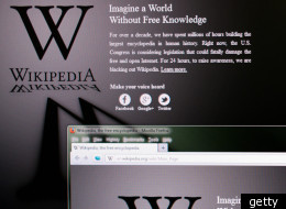 Wikipedia announces its blackout