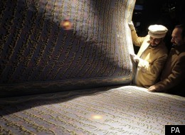 The largest Qur'an in the world has been revealed in Afghanistan
