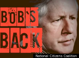 The National Citizens Coalition has released an attack ad aimed at Bob Rae that liberally borrows from the 'Inception' theme. (National Citizens Coalition)