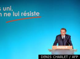 François Bayrou, jeudi soir à Dunkerque, pour le premier meeting de sa campagne.