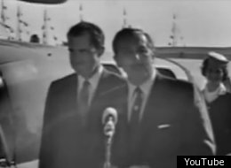 Back in the 1950s, Walt Disney kidnapped Richard Nixon when he visited Disneyland for the official dedication ceremony for the Monorail.