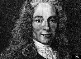 Voltaire spent two years in England