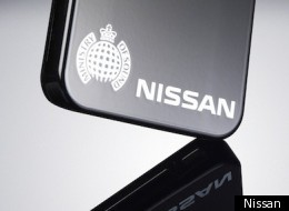 An image of Nissan's Scratch Shield iPhone case, via Penn-Olson.