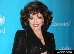 Joan Collins denies she will appear in Downton Abbey