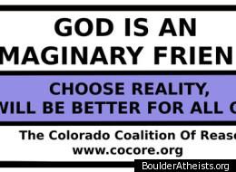 Image of BoulderAtheists.org billboard text.