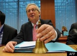 Jean-Claude Juncker, chef de file des ministres des finances de la zone euro