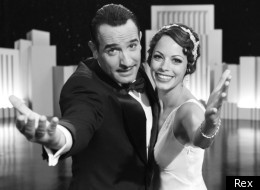 Jean Dujardin and Berenice Bejo in The Artist which has been nominated for an Oscar