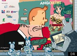 Affiche officielle du festival d'Angoulême