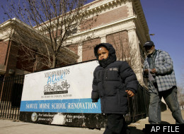 Chicago has been closing struggling schools for years. During U.S. Secretary of Education Arne Duncan's tenure as the city's schools chief, he closed Chicago's Samuel Morse Elementary School (pictured in 2006) and reopened it as a charter school. (AP Photo/Charles Rex Arbogast)