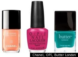 Chanel, OPI, Butter London