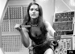 Louise Jameson as Dr Who's companion in 1976