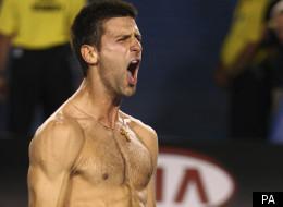 Novak Djokovic beat Rafael Nadal in the final of the Australian Open